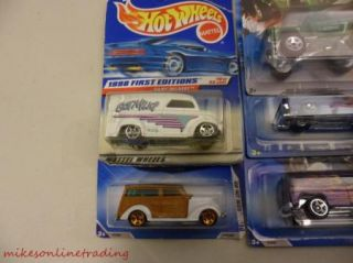 Hot Wheels Lot 7 Cars New Matchbox Trucks