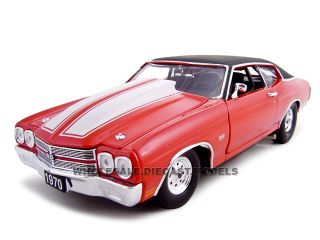 1970 Chevrolet Chevelle Pro Street SS 454 Red 1 24