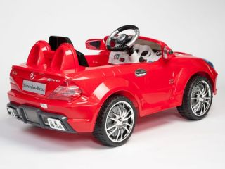 Mercedes Benz Power Ride on SL65 AMG Kids Remote Control Car Wheels