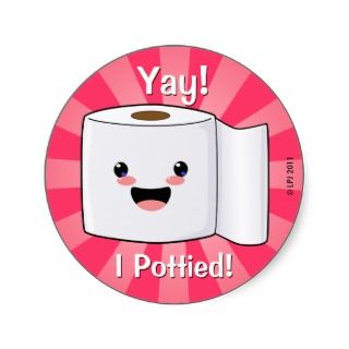Potty Training Reward Petey TP Stickers