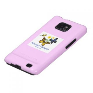 Massage Therapist Butterflies Samsung Galaxy Cover