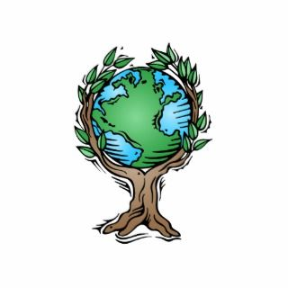Earth Day Earth Tree Cut Outs