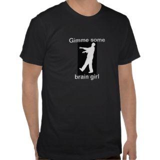 zombie pun T shirt