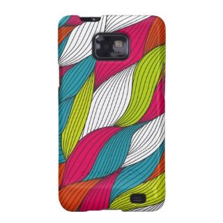 Colorful thread effect galaxy s2 case