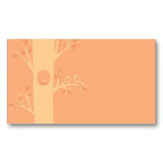 vintage cute birds house business card