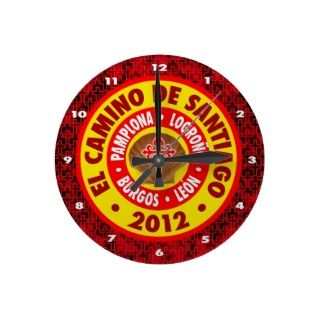 El Camino De Santiago 2012 Clocks