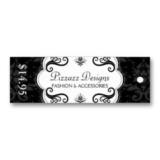 Accessory Boutique Hang Tags Business Card Templates