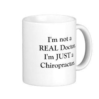 Just a Chiropractor Coffee Mug