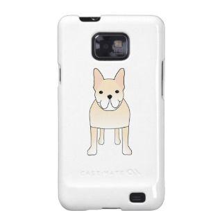 Cute Dog. Pale Cream French Bulldog. Samsung Galaxy Covers
