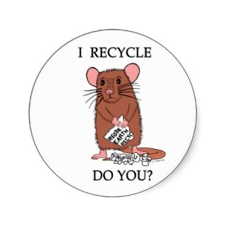 Recycle, Do You? Sticker