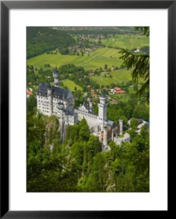 Neuschwanstein Castle, Bavaria, Germany Pre made Frame