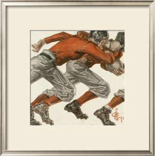 Football Players, c.1913 Framed Giclee Print