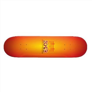 Chinese New Year 2013 Year of the Snake Skateboard