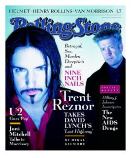 Trent Reznor and David Lynch, Rolling Stone no. 755, March 1997 Wall Decal