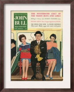 John Bull, Gents Routemasters Magazine, UK, 1950 Pre made Frame