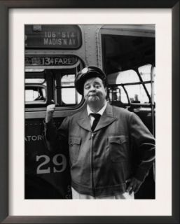 The Honeymooners, Jackie Gleason, 1955 56 Pre made Frame