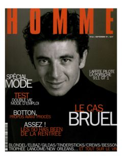LOptimum, September 1997   Patrick Bruel Print by Neil Kirk