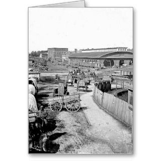 War Greeting Cards, Note Cards and Civil War Greeting Card Templates