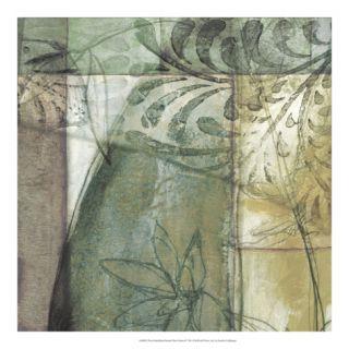 Non Embld. Stained Glass Garden II Giclee Print by Jennifer Goldberger
