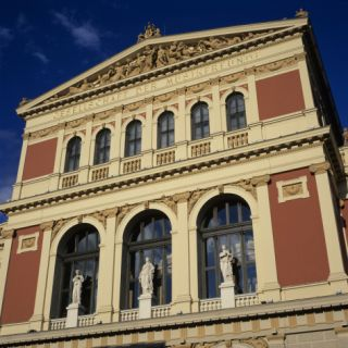 Exterior of Musikverein Concert Hall, Vienna, Austria, ope Photographic Print by Stuart Black
