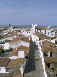 Hill Village of Monsaraz Near the Spanish Border, Alentejo Region, Portugal Photographic Print by R H Productions