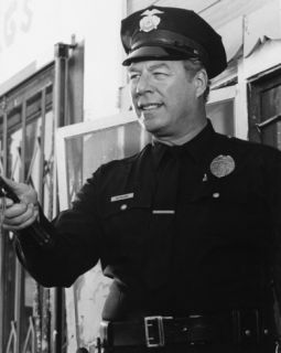 George Kennedy   The Blue Knight Photograph