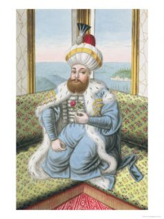 Mehmed II (1432 81) Called Fatih, the Conqueror Giclee Print by John Young