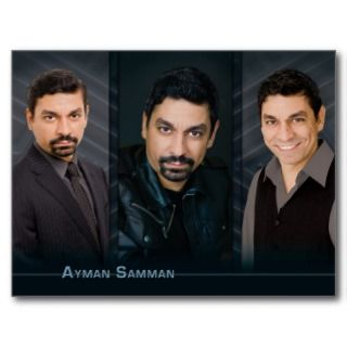 Postcard Template Design for Actors and Actresses