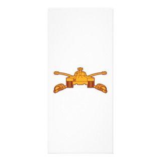 Armor Branch Insignia Rack Card Design