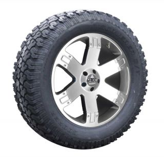 9x20 + 275/60R20 Cooper Jeep Wrangler JK 2007 12 wheel silber
