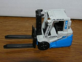 New Loose Matchbox 2009 Blue Gray Power Lift Fork Lift MB704 Forklift