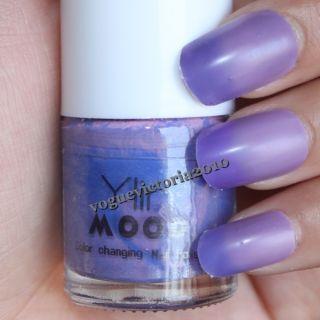 Blau Violett Farbwechsel Polierung Nagellack Color Changing Nail
