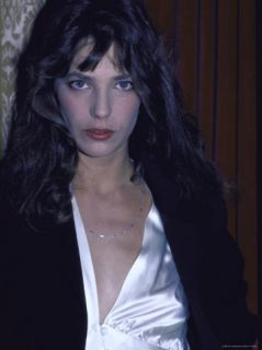 Actress Jane Birkin Premium Photographic Print by Ann Clifford