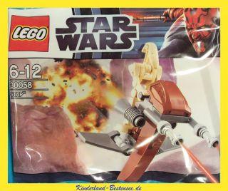 LEGO*STAR WARS*30058*BATTLE DROID MIT STAP*LIMITIERT*IDEE + SPIEL
