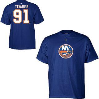 NHL T Shirt NEW YORK ISLANDERS John Tavares #91 blue L