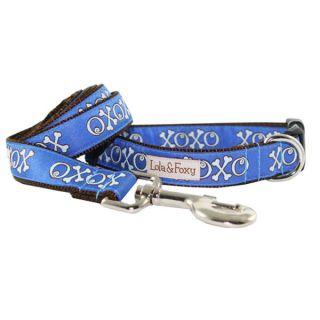 Lola & Foxy Nylon Dog Collars   Blue Hugs   Collars   Collars, Harnesses & Leashes