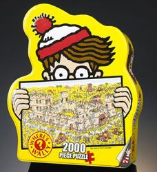 WHERES WALLY Jigsaw Kids PUZZLE On the BEACH 250pc 5012822070203
