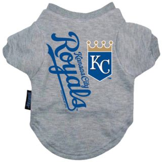 Kansas City Royals Pet T Shirt   Clothing & Accessories   Dog