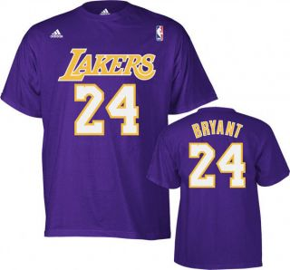 NBA Basektball Trikot/T Shirt LOS ANGELES LAKERS Kobe Bryant #24 lila