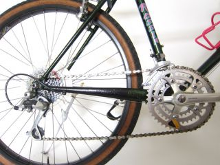 1989 RARE ROSSIN CONCEPT FIRST MTB NICE DUPONT PAINT COLUMBUS STEEL