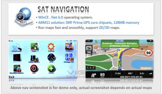 ETO Stereo Chrysler 300C Dodge Jeep Navigation System GPS DVD