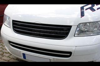 VW T5 Bus V6 Transporter Kühlergrill Sport Front Grill Schwarz ohne