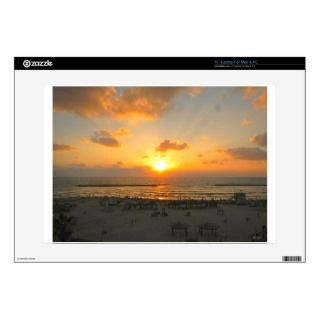 Tel Aviv Sunset Laptop Decal