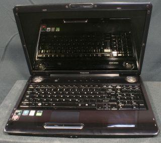 Satellite P300D 2x2.1GHz 4GB 320GB 17 Notebook, defekt für Bastler