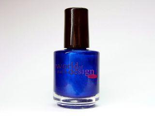 Nagel Lack ♦ Metallic Blue Nuit ♦ 15 ml. Nagellack ♦