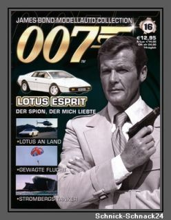 James Bond 007 Modellauto Collection Nr. 16 + Heft