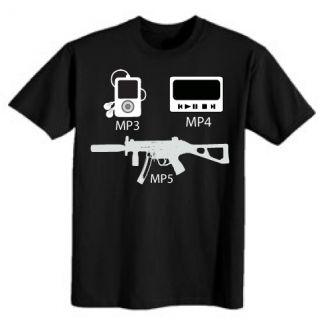 rifle pistol Zombies zombie ak47 m 16 SONS GUNS GUN TEE SHIRT