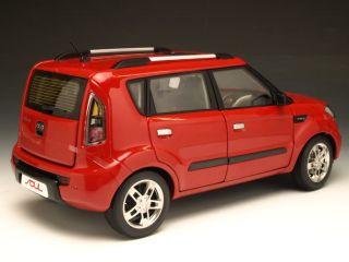 18 Minicraft KIA soul Tomato Red model car kits Japanese