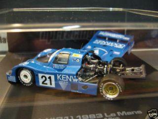 PORSCHE 956 LH 1983 Le Mans Kenwood Andr HIGHEND HPI 43