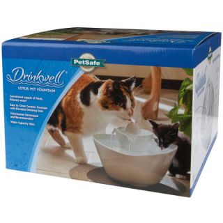 Drinkwell Ceramic and Stainless Steel 360 Foam Filter 2 pk.   Automatic Feeders & Waterers   Bowls & Feeding Accessories